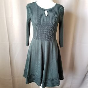 Olive & Oak Green Sweater Dress